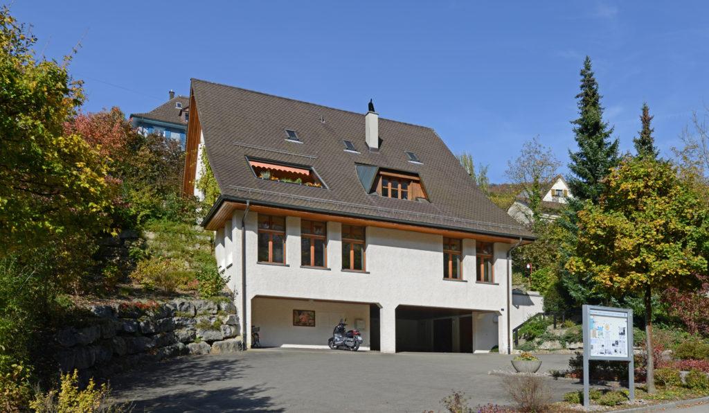 Pfarrhaus an der Geissbergstrasse 17 in Ennetbaden