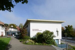 Haupteingang Kirchgemeindehaus