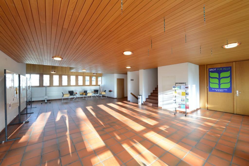 Foyer im Kirchenzentrum